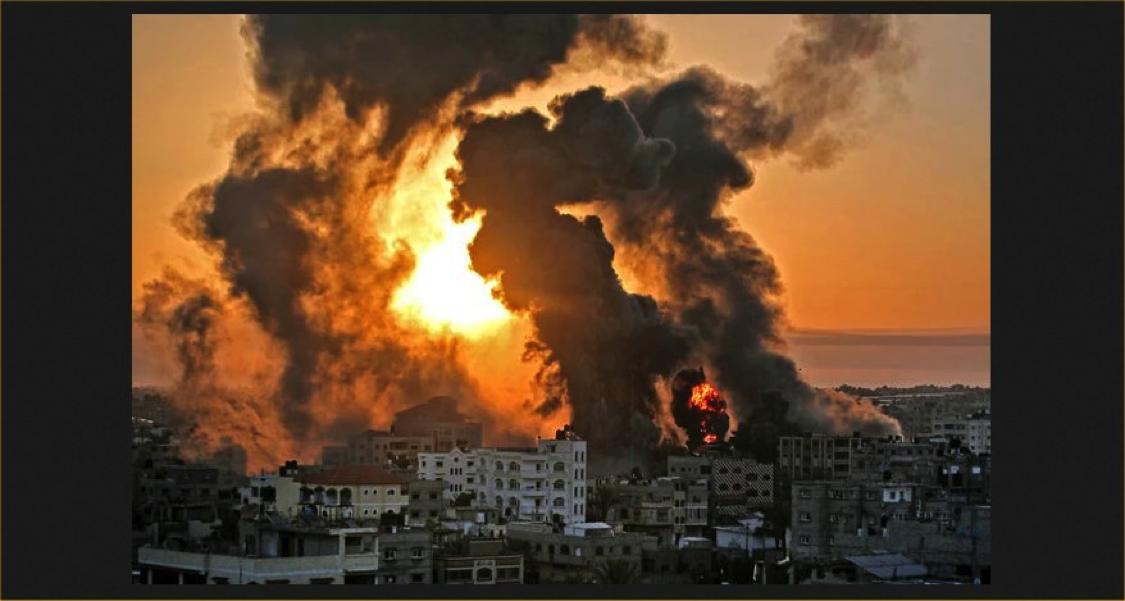 Israeli assault on Gaza, May 2021
